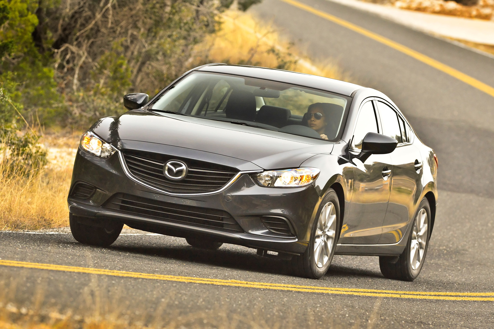2014 Mazda6 Sport Front Three Quarters View1