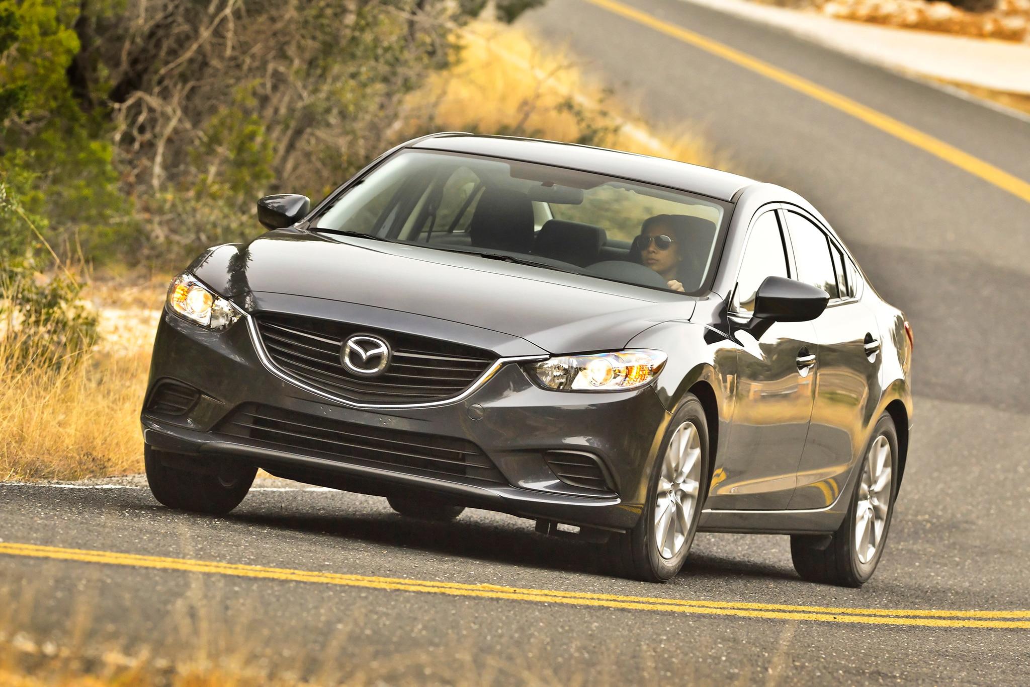 2014 Mazda6 Sport Front Three Quarters View1
