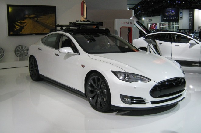 2014 Tesla Model S Detroit