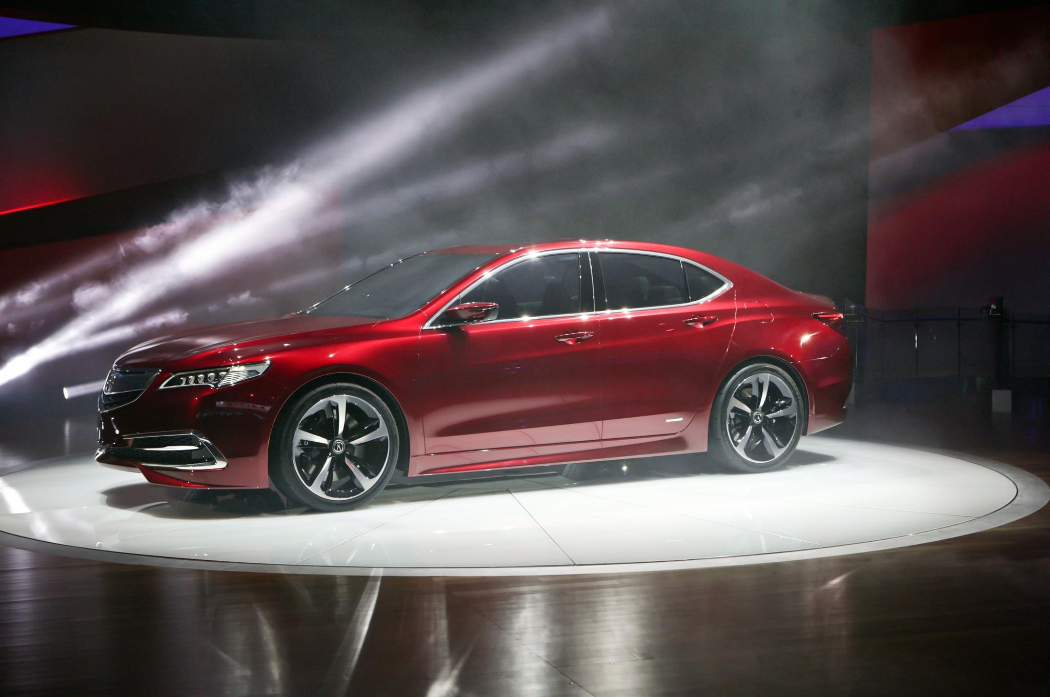 2015 Acura TLX Prototype Side1