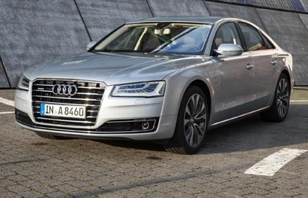 2015 Audi A8 TFSI Quattro Homepage