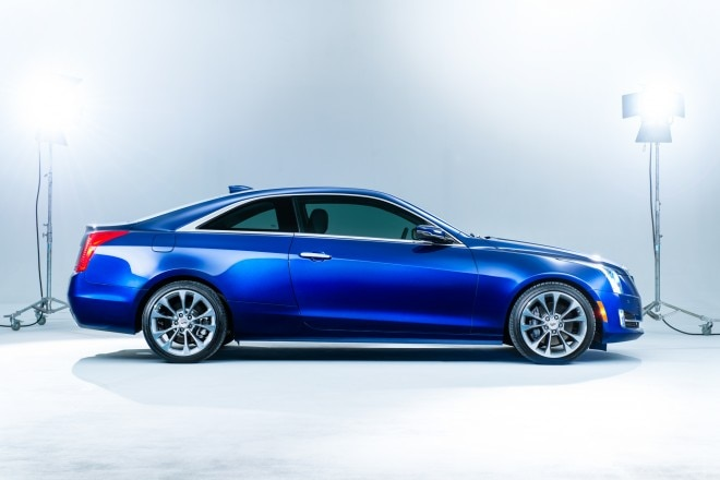 2015 Cadillac ATS Coupe Side View 660x440