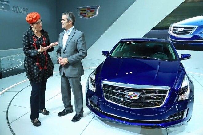 2015 Cadillac ATS Coupe Detroit 660x438