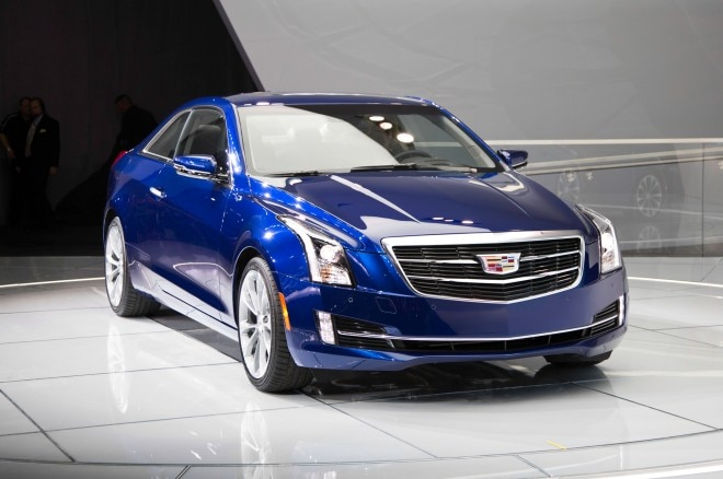 2015 Cadillac ATS Coupe Front Three Quarters 660x438