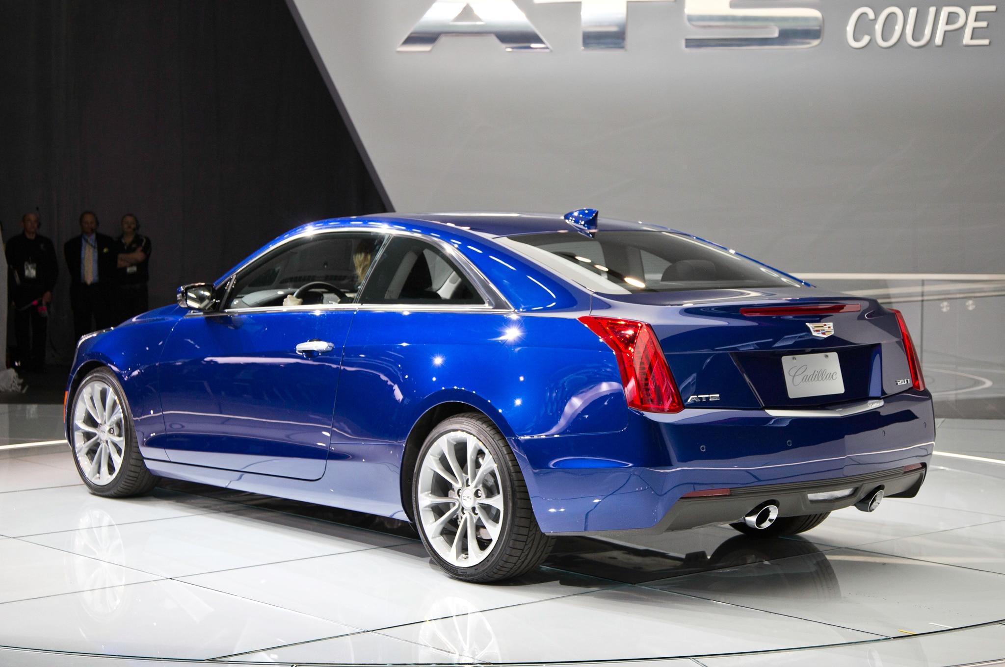 2015 Cadillac ATS Coupe Debuts At 2014 Detroit Auto Show