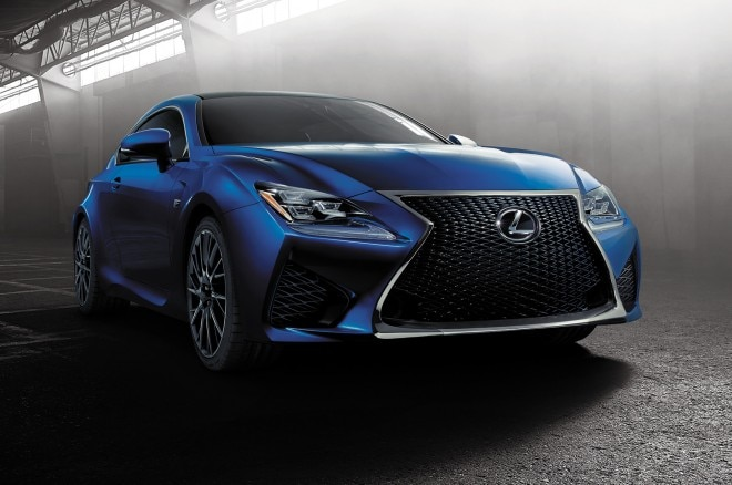 2015 Lexus RC F Coupe Front View1 660x438