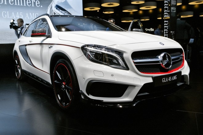 2015 Mercedes Benz GLA45 AMG Front View2 660x438