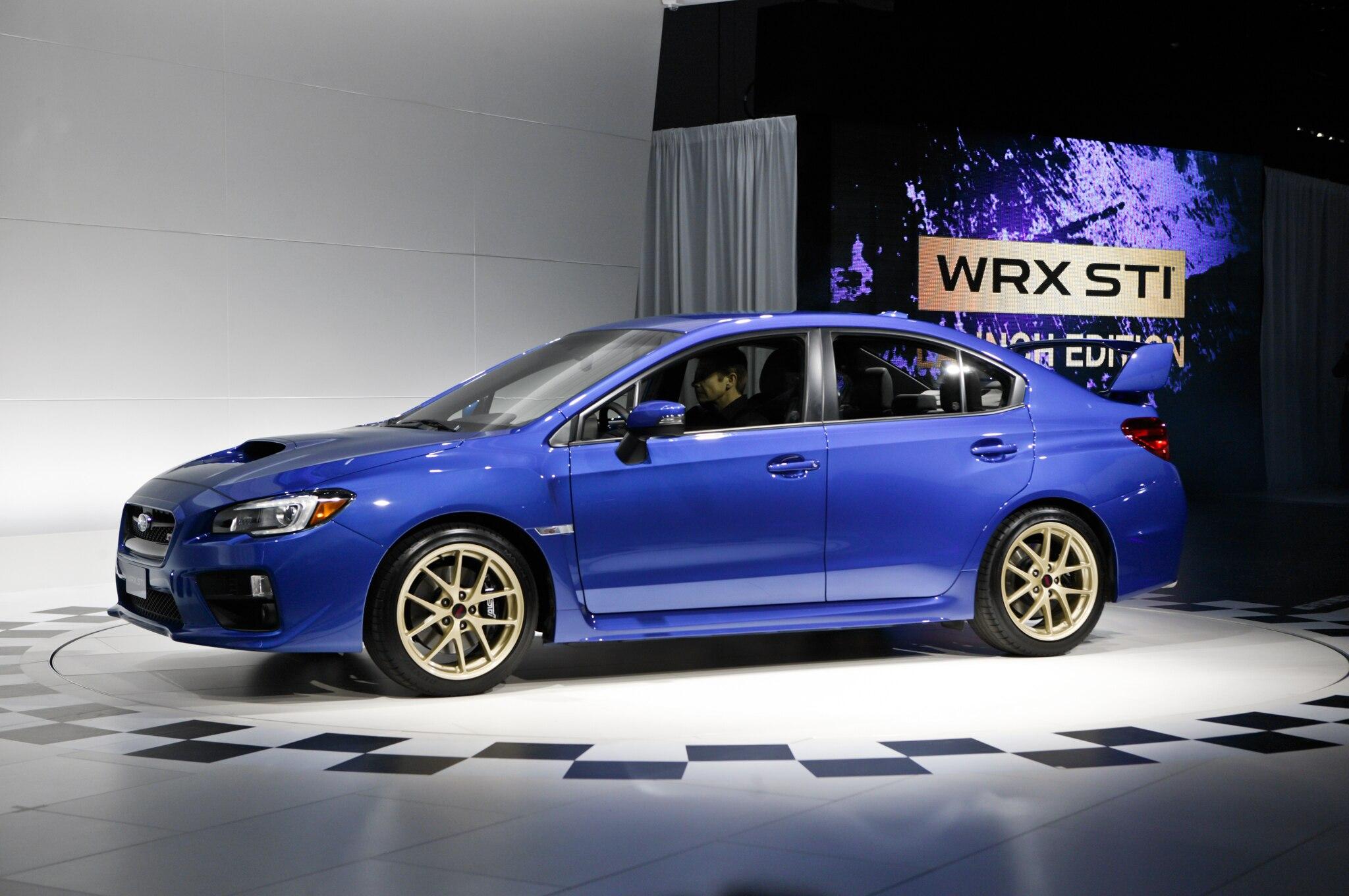 2015 Subaru WRX STI Front Three Quarter 052