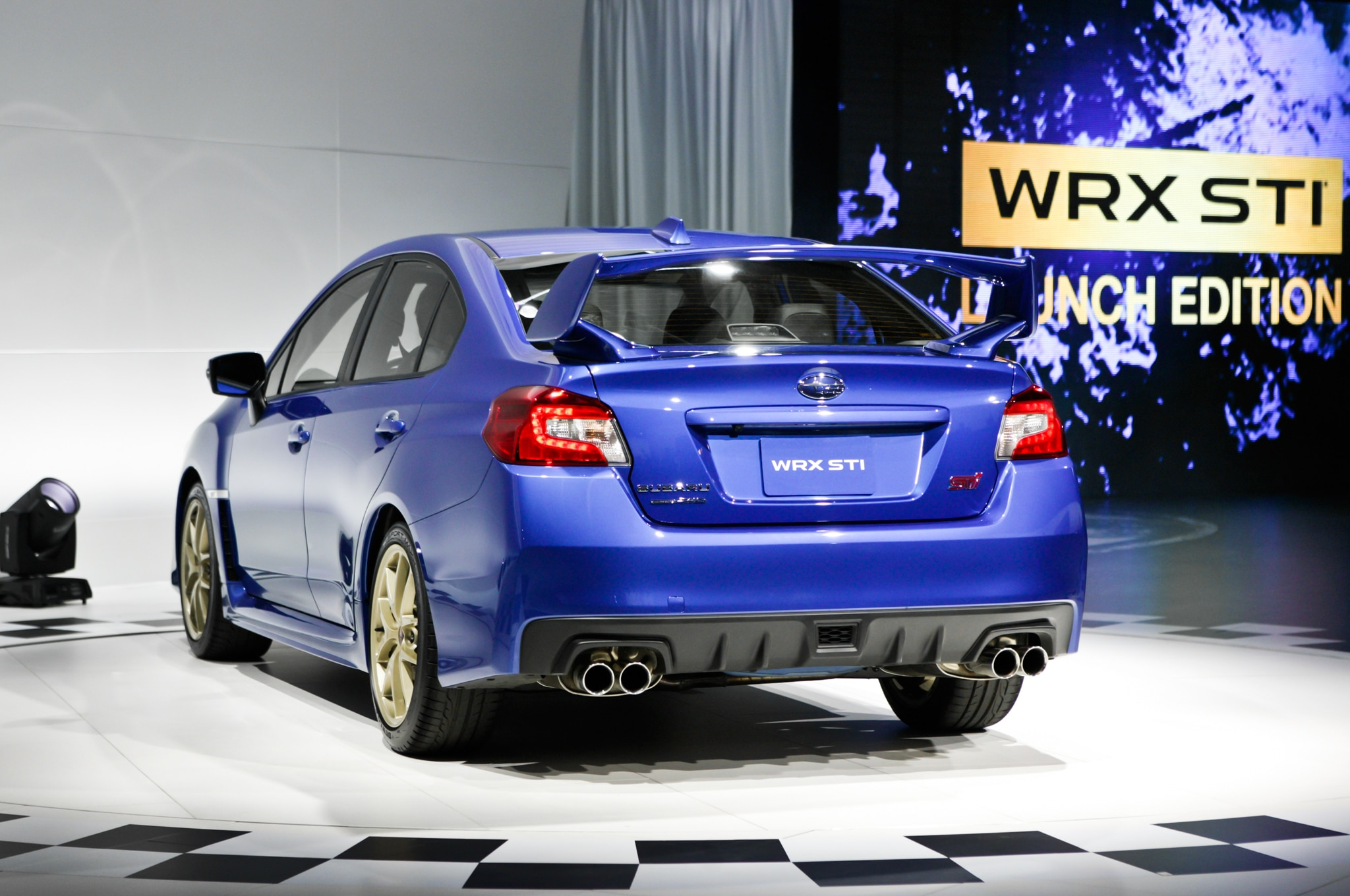 detroit 2014 2015 subaru wrx sti continues its go fast legacy automobile magazine. Black Bedroom Furniture Sets. Home Design Ideas