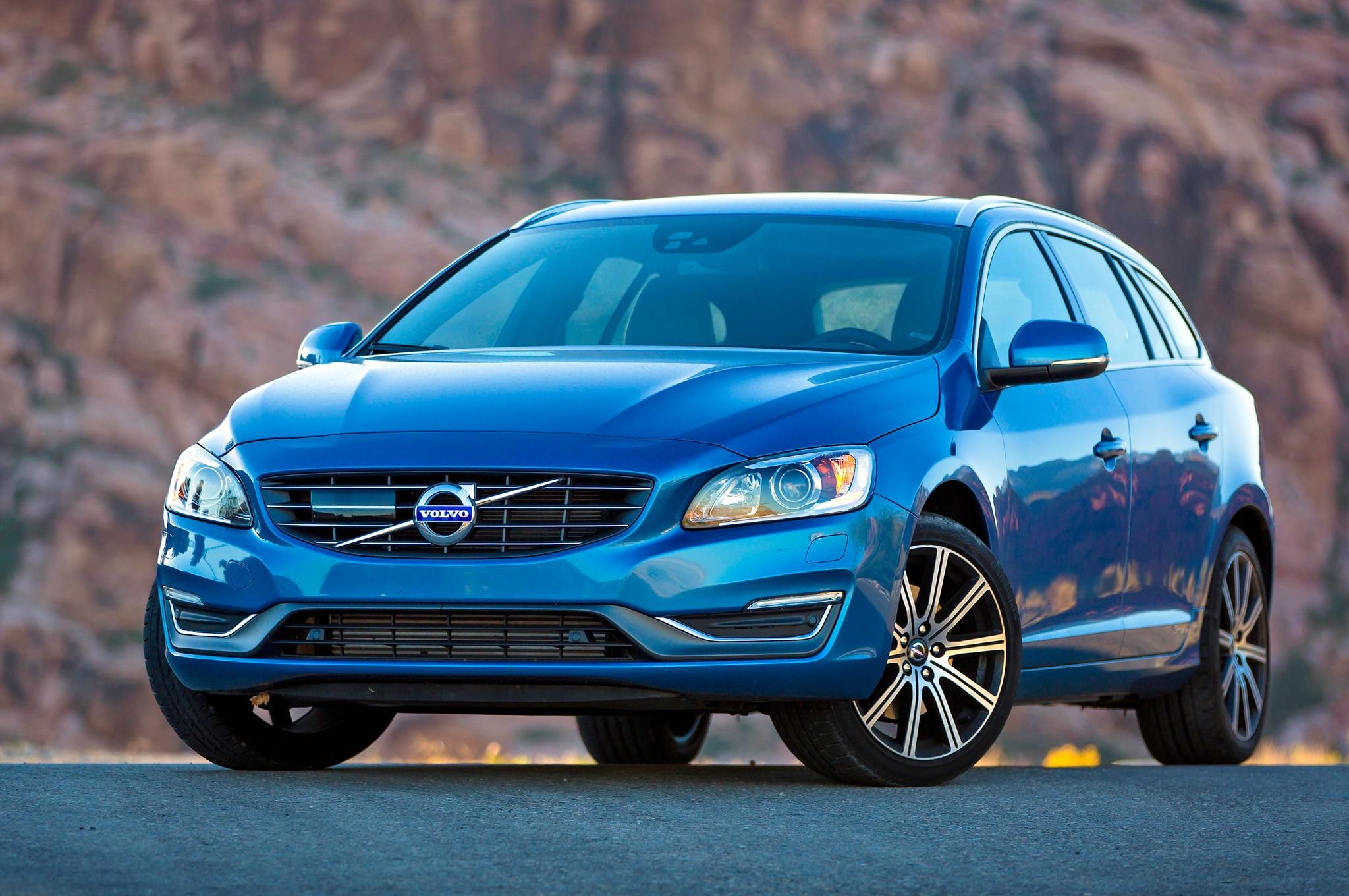 2015 Volvo V60 T5 Drive E Front 052