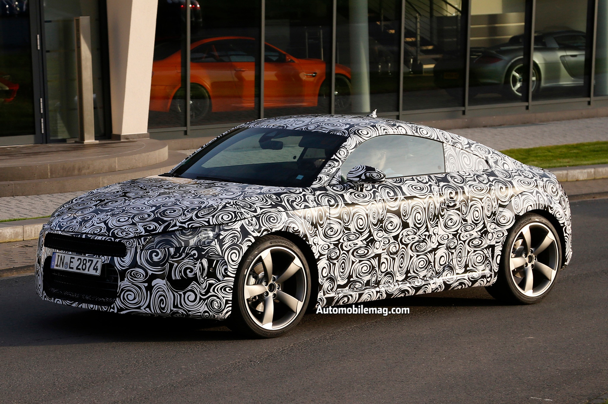 2015 Audi Tt Spy Front Three Quarters 21