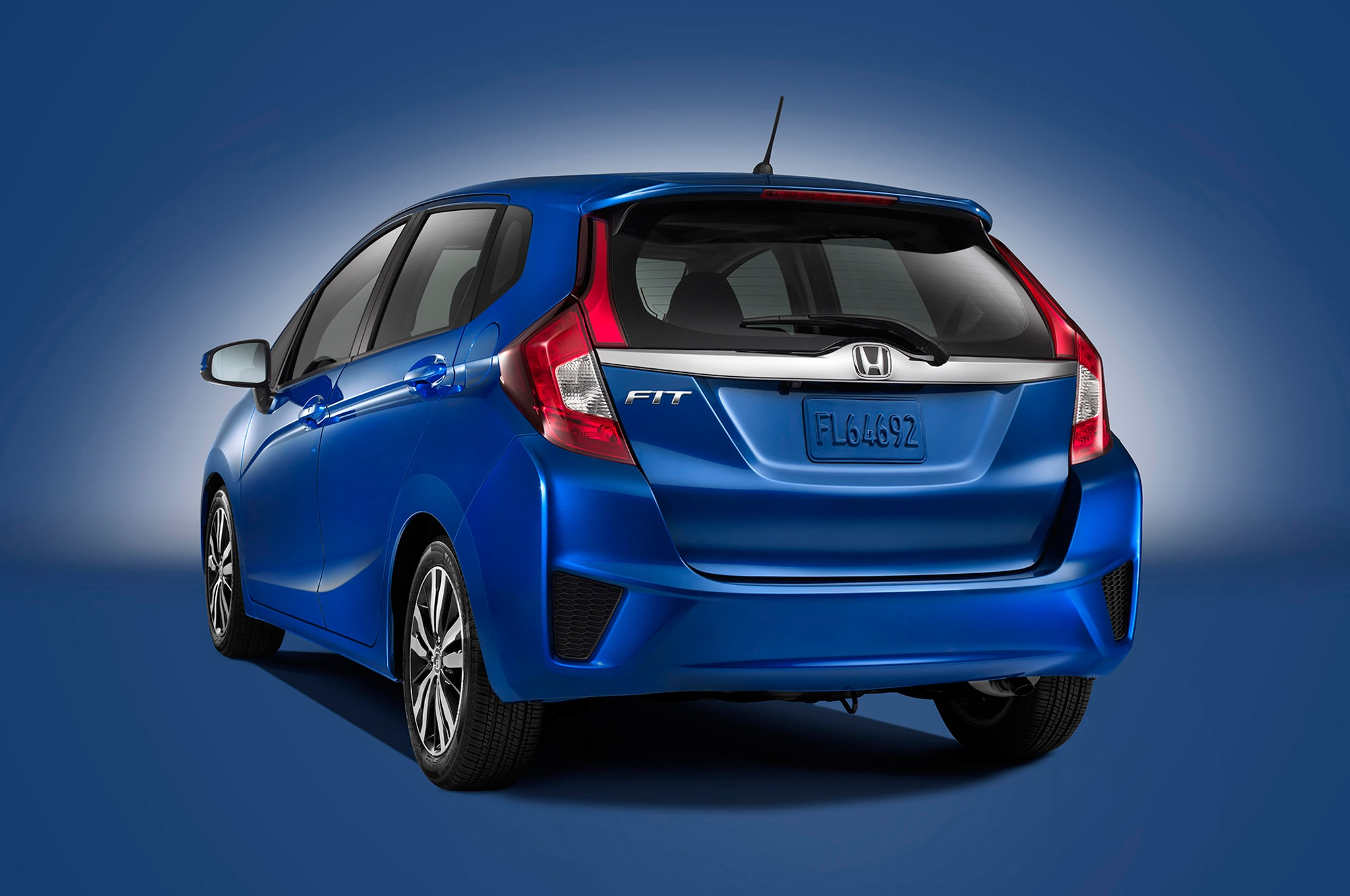 2015 Honda Fit Rear Three Quarter1