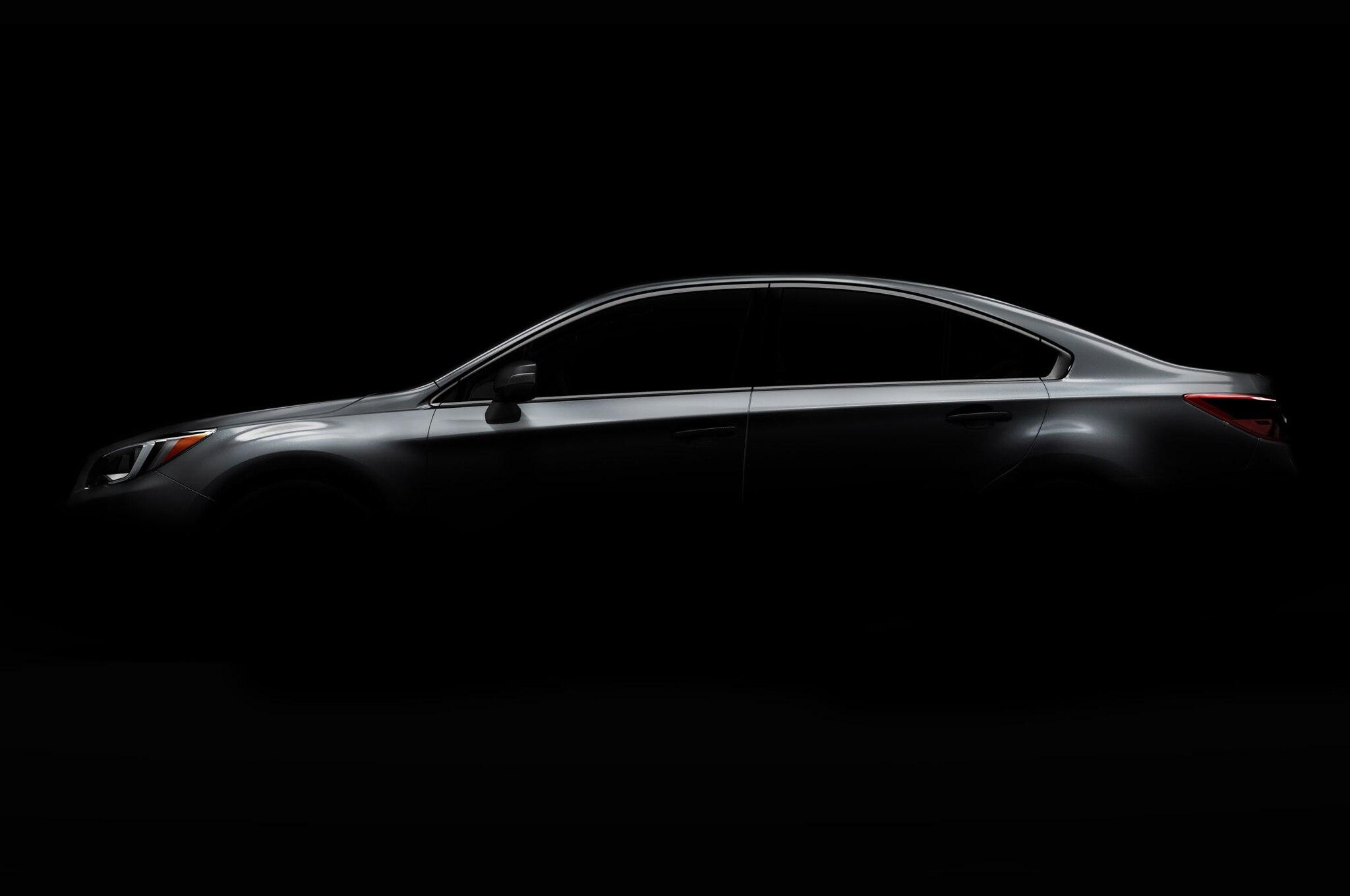 2015 Subaru Legacy Teaser Photo Profile1