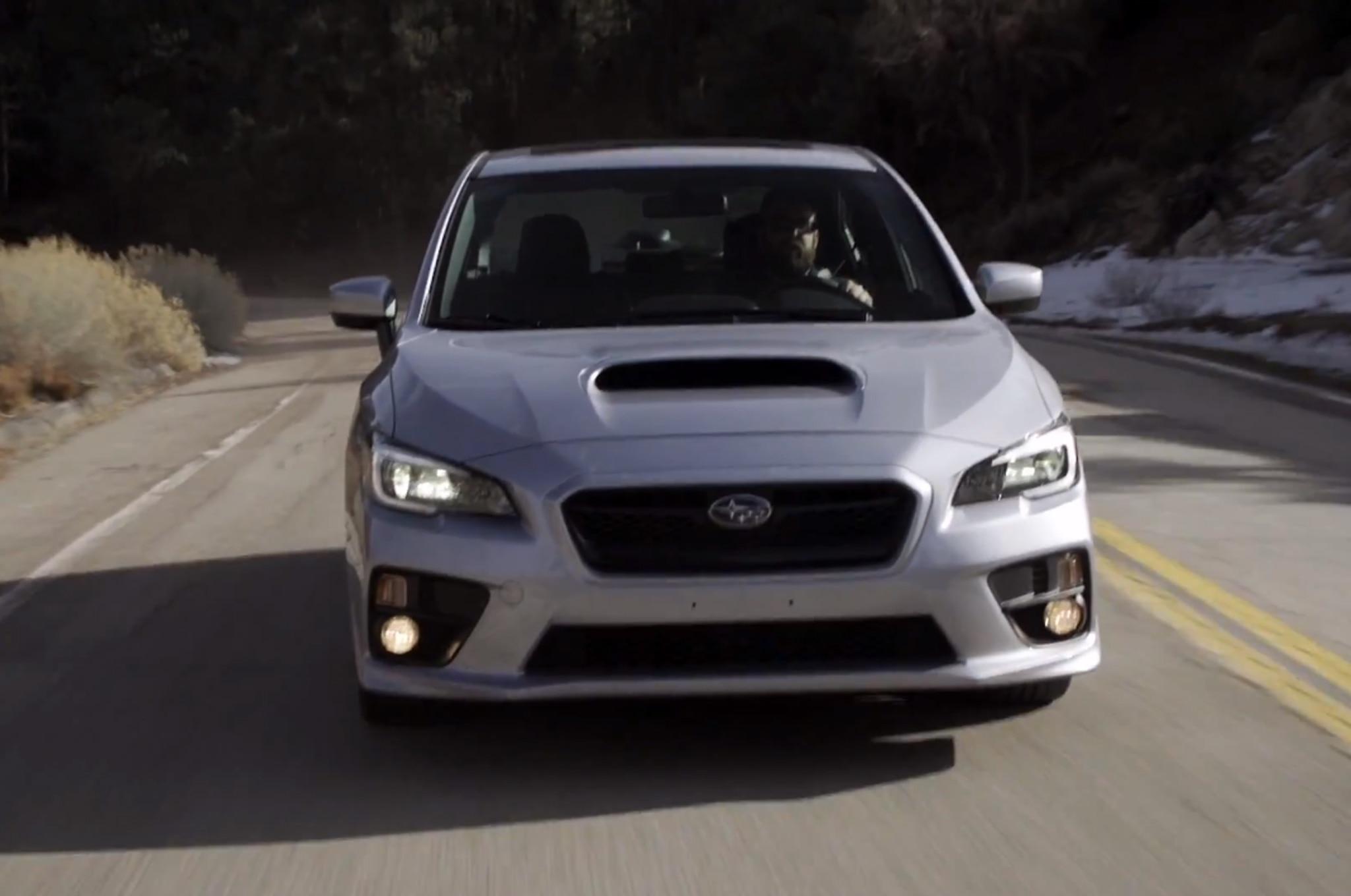 2015 Subaru Wrx Front Video Grab1