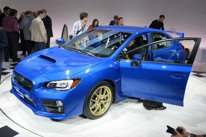 2015 Subaru Wrx Sti Launch Edition Front Three Quarter1 660x438
