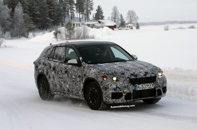 2016 BMW X1 Spy Shot Front Three Quarter 21 660x438