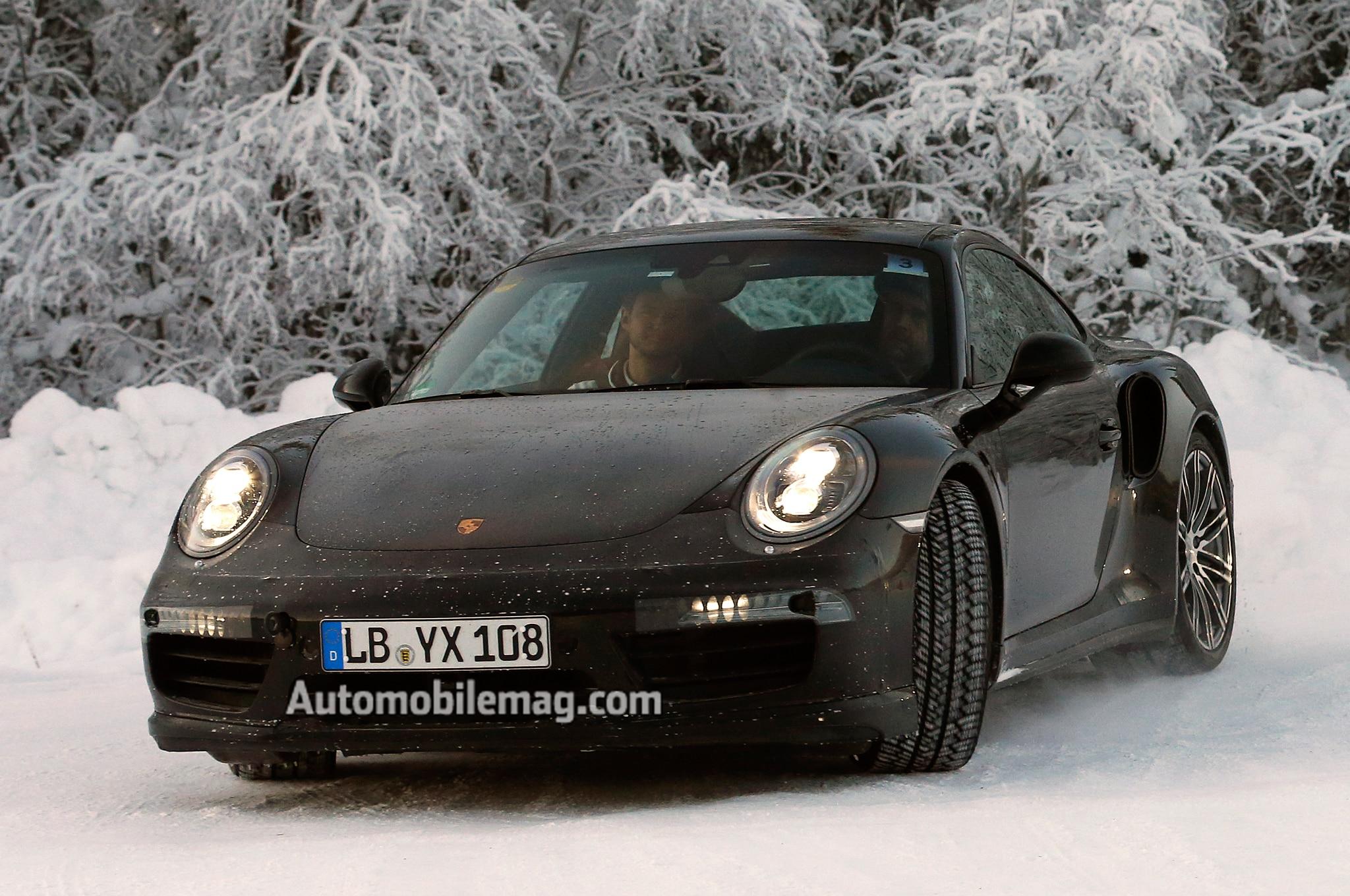 2016 Porsche 911 Turbo Left Front Angle