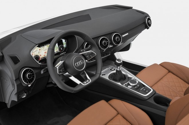 Audi TT Interior Preview Cockpit1 660x438