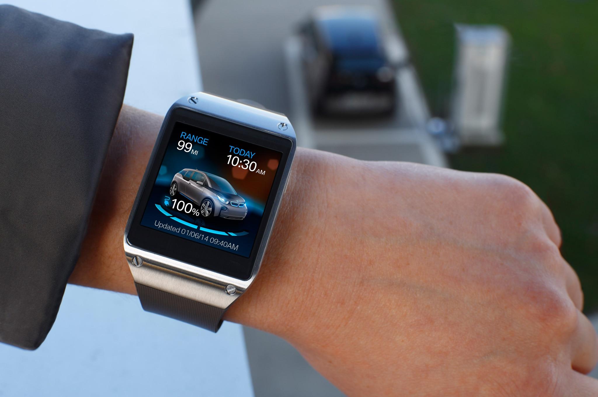 BMW Smartwatch Mileage 021