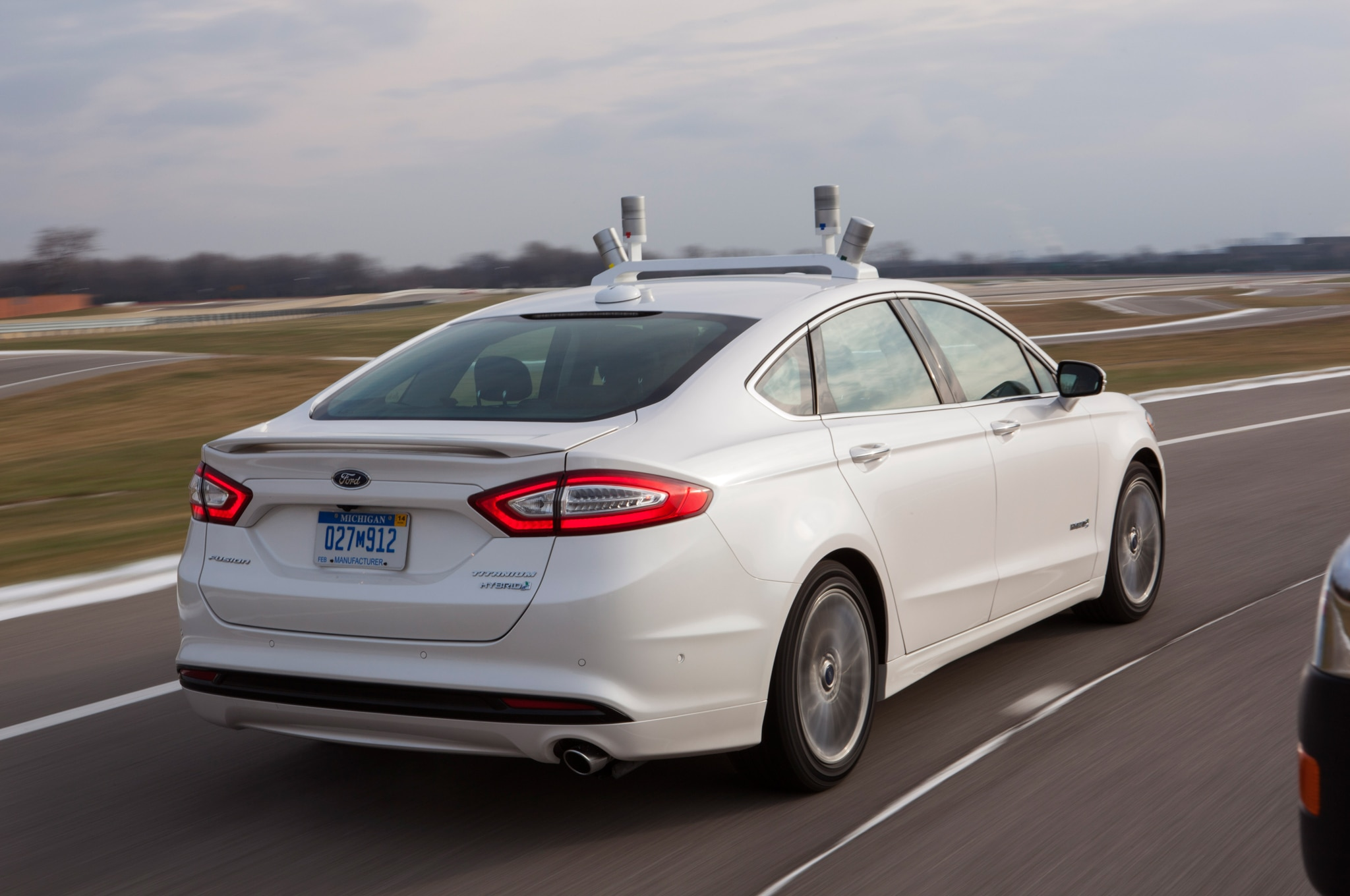Ford Fusion Autonomous Car Lidar System Can Literally See