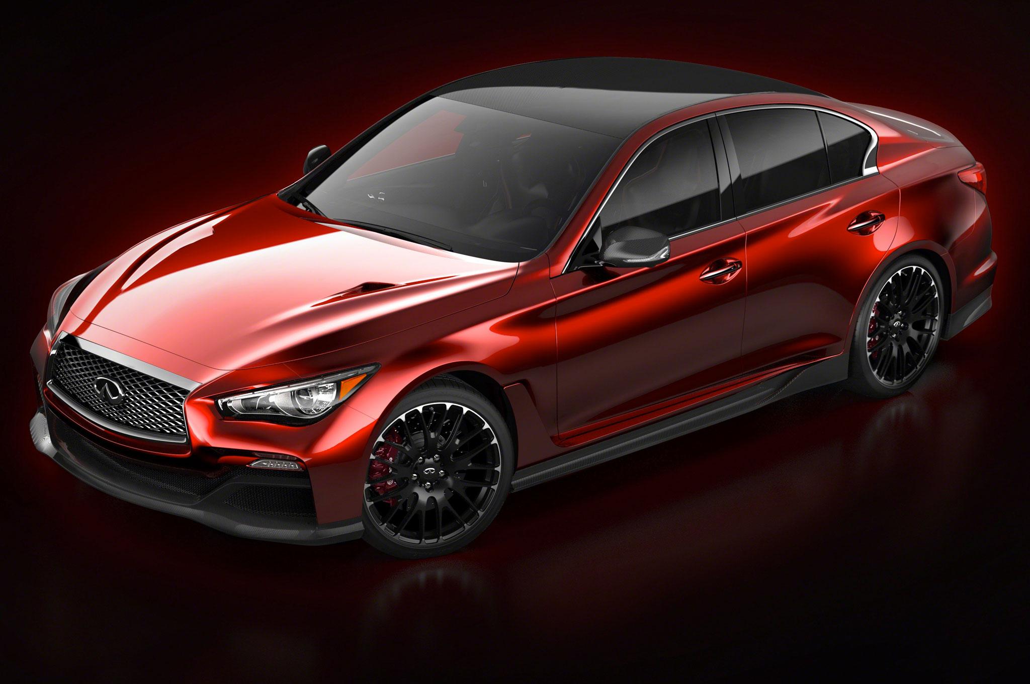 Infiniti Q50 Eau Rouge Concept Front Three Quarters1