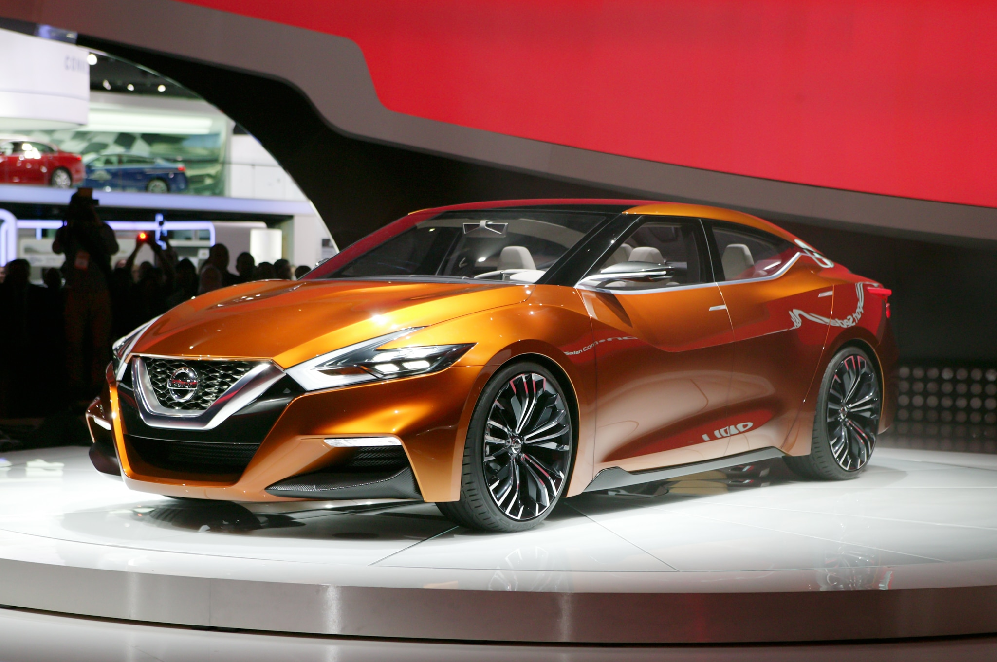 Nissan Sport Sedan Concept Front Three Quarters1
