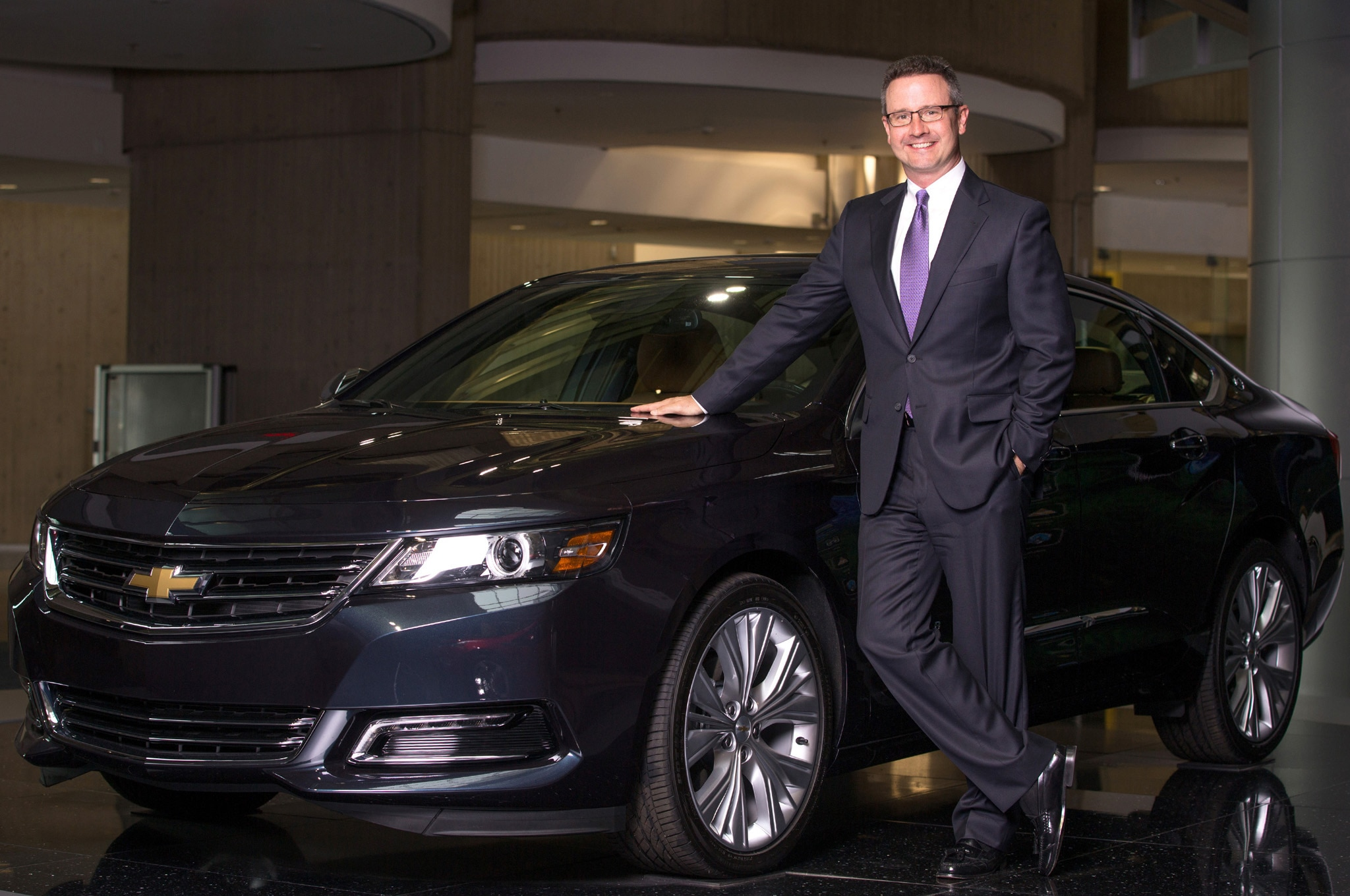 Paul Edwards With 2014 Chevrolet Impala1