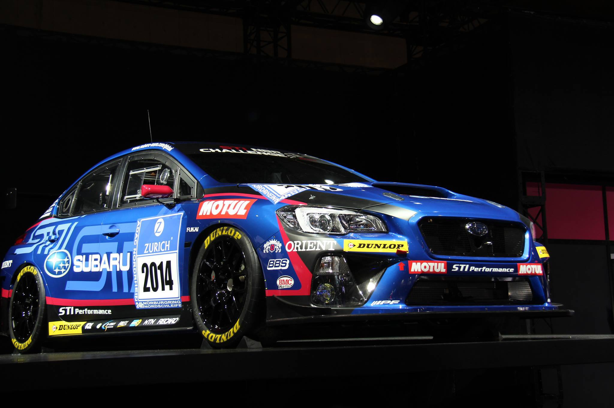 Subaru WRX STI Race Car Front Three Quarter1
