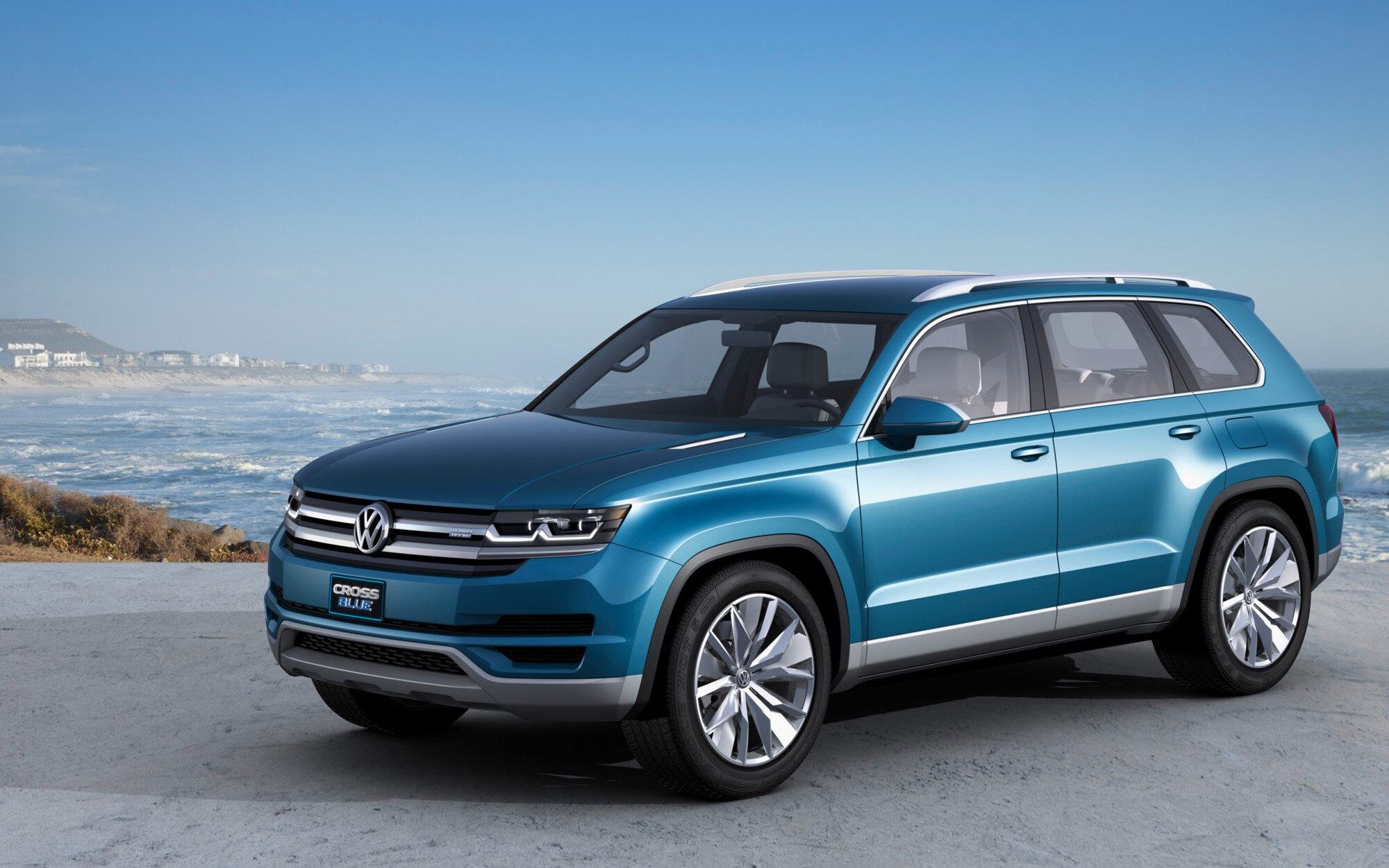 Volkswagen CrossBlue Concept Front Three Quarter1