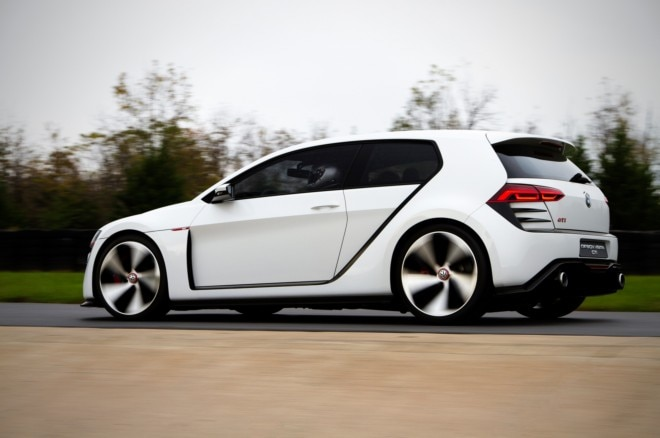 Volkswagen Design Vision GTI Concept Rear Three Quarter In Motion1 660x438