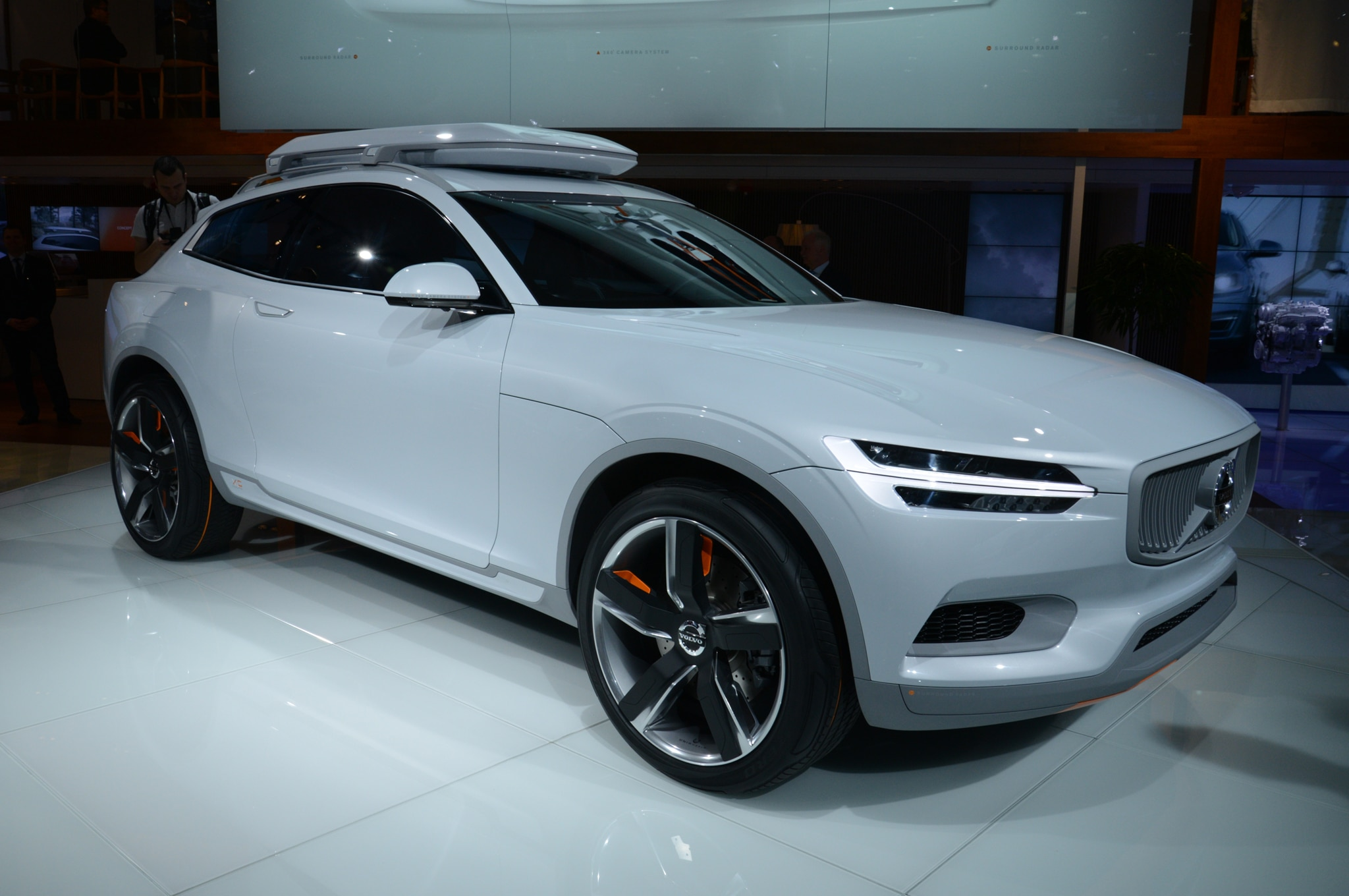 Volvo Concept XC Coupe Front Passengers Side1
