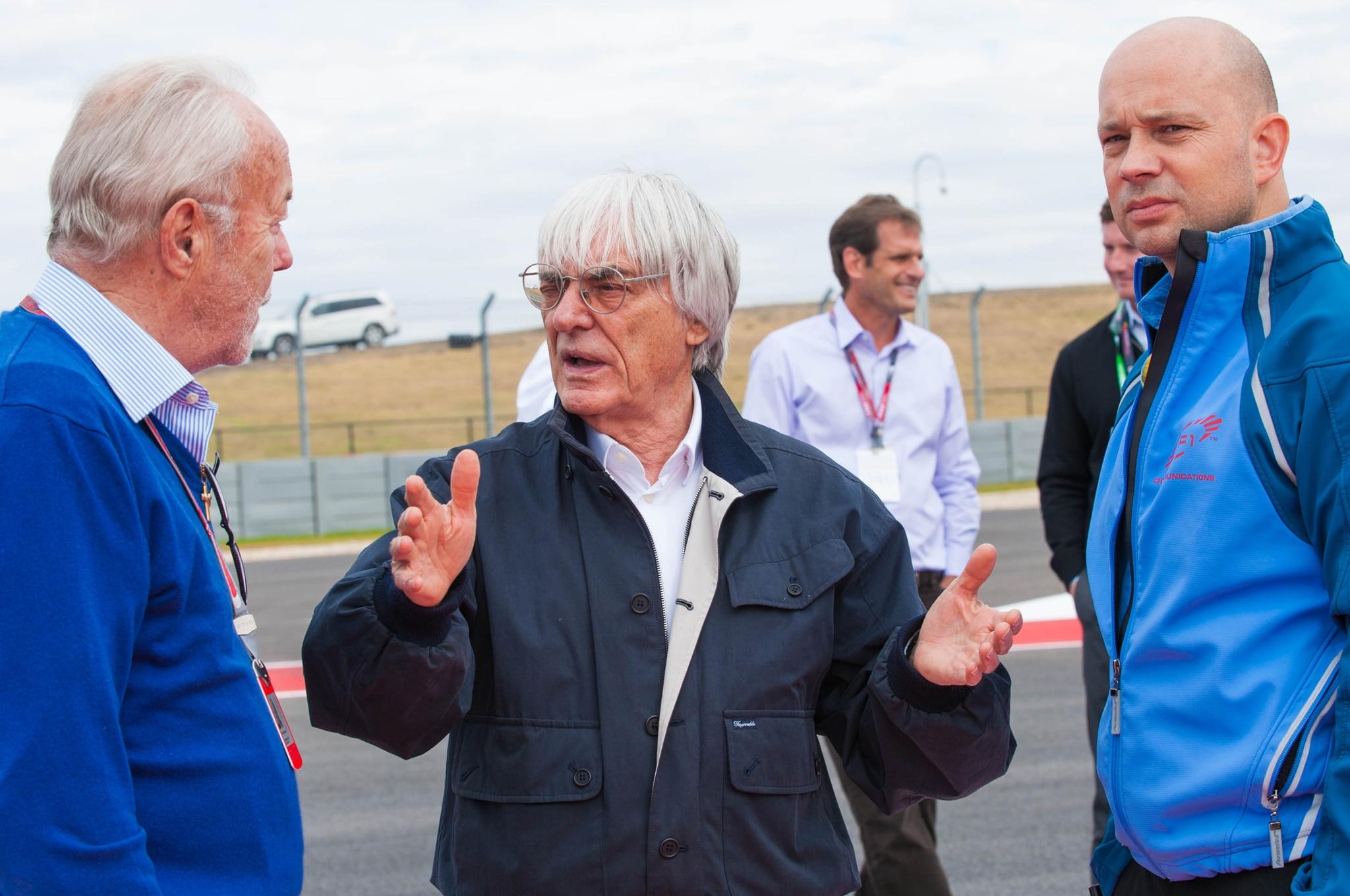 Bernie Ecclestone At Circuit Of The Americas1