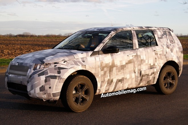 Land Rover Discovery Sport Spied Front Three Quarter 11 660x438