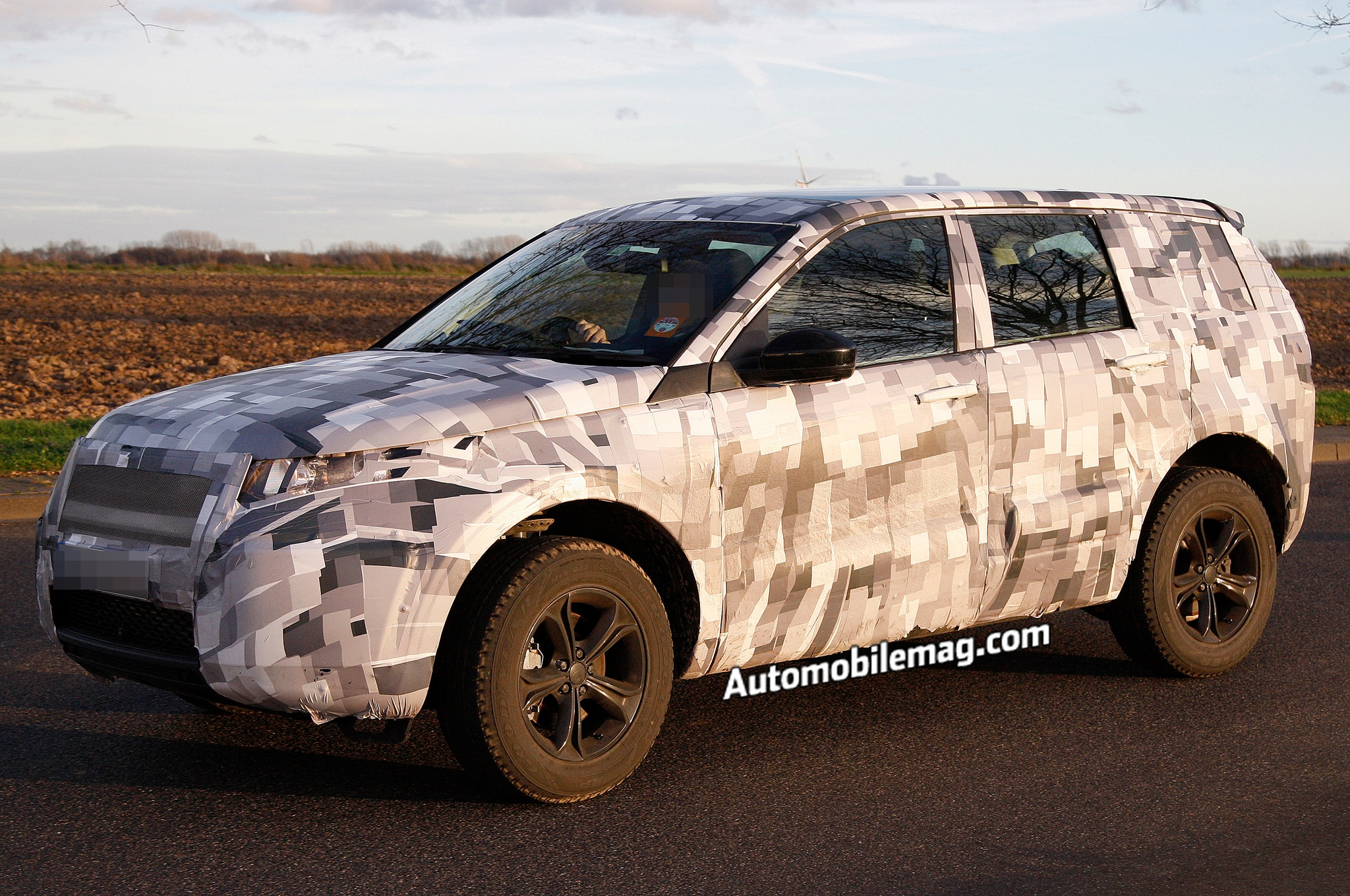 Land Rover Discovery Sport Spied Front Three Quarter 11
