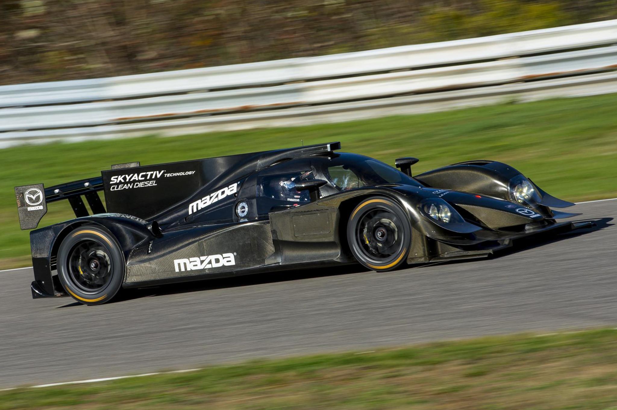 Mazda Skyactiv Diesel Prototype Racer