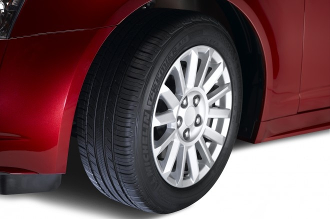 Michelin Premier Evergrip Tire On Car1 660x438
