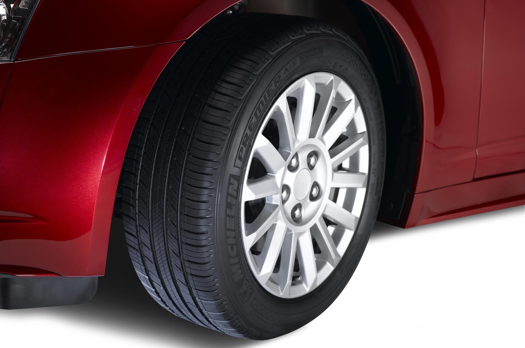 Michelin Premier Evergrip Tire On Car1