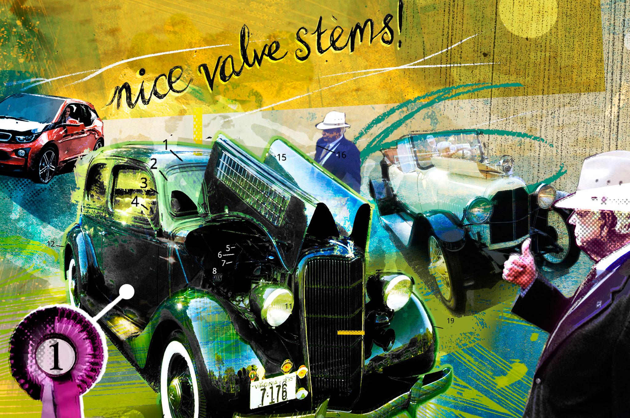 Nice Valve Stems Illustration Cropped