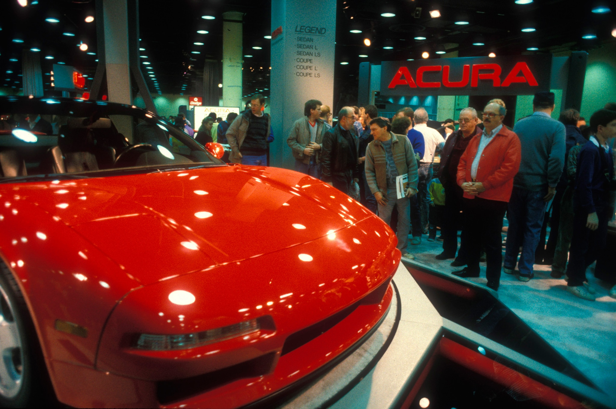 1989 Acura NSX Prototype During Chicago Auto Show Public Days1
