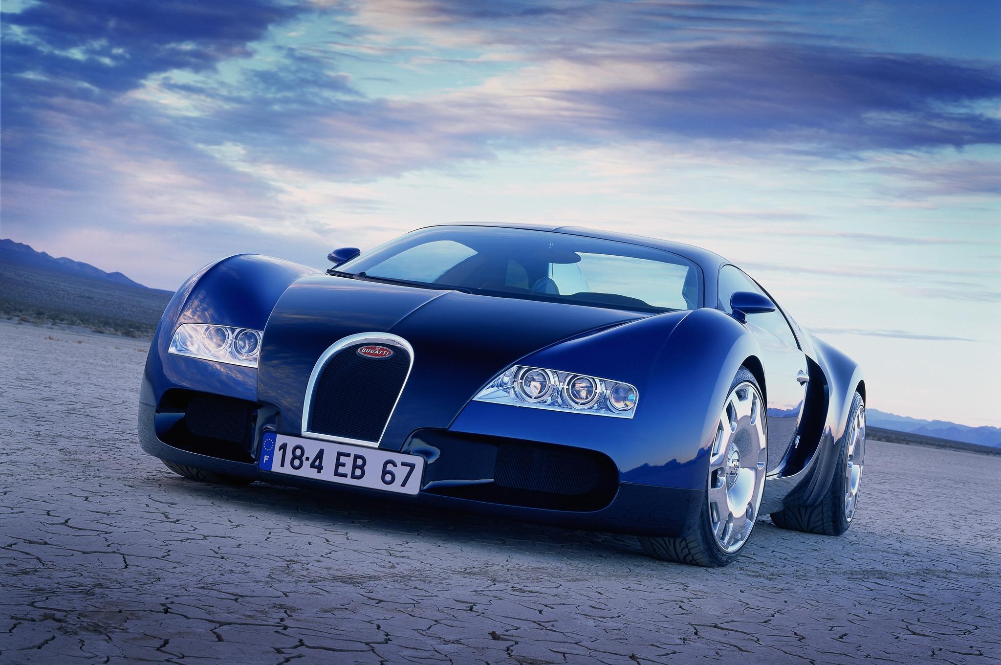 1999 Bugatti 18 4 Veyron Concept Front1