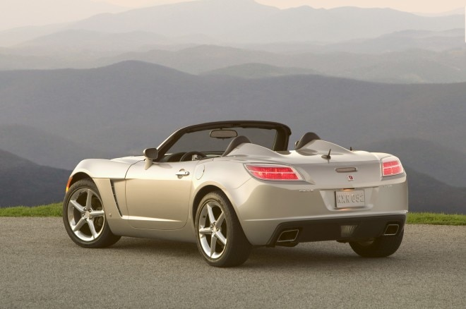 2007 Saturn Sky Redline Rear Three Quarter1 660x438