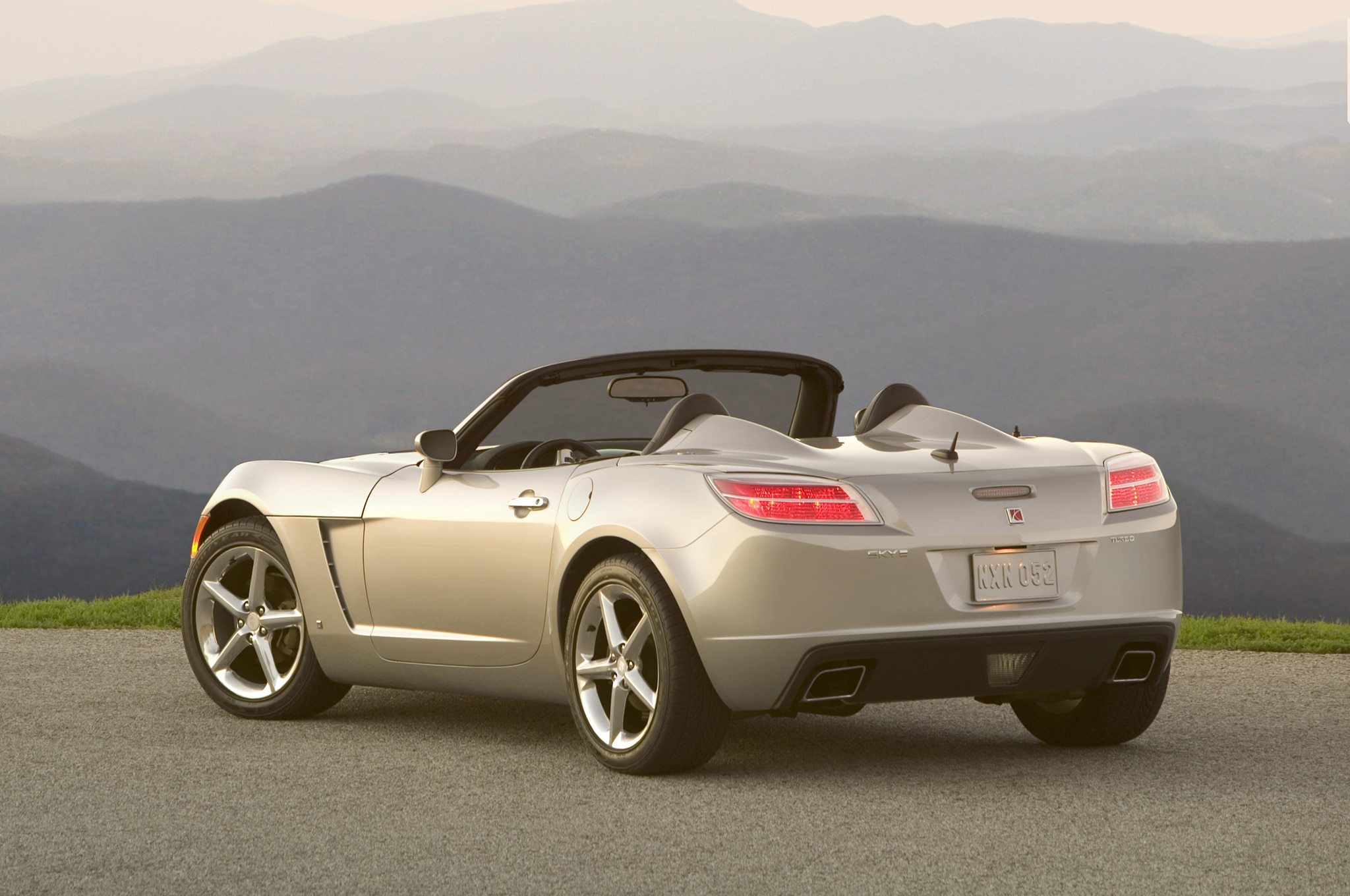 2007 Saturn Sky Redline Rear Three Quarter1