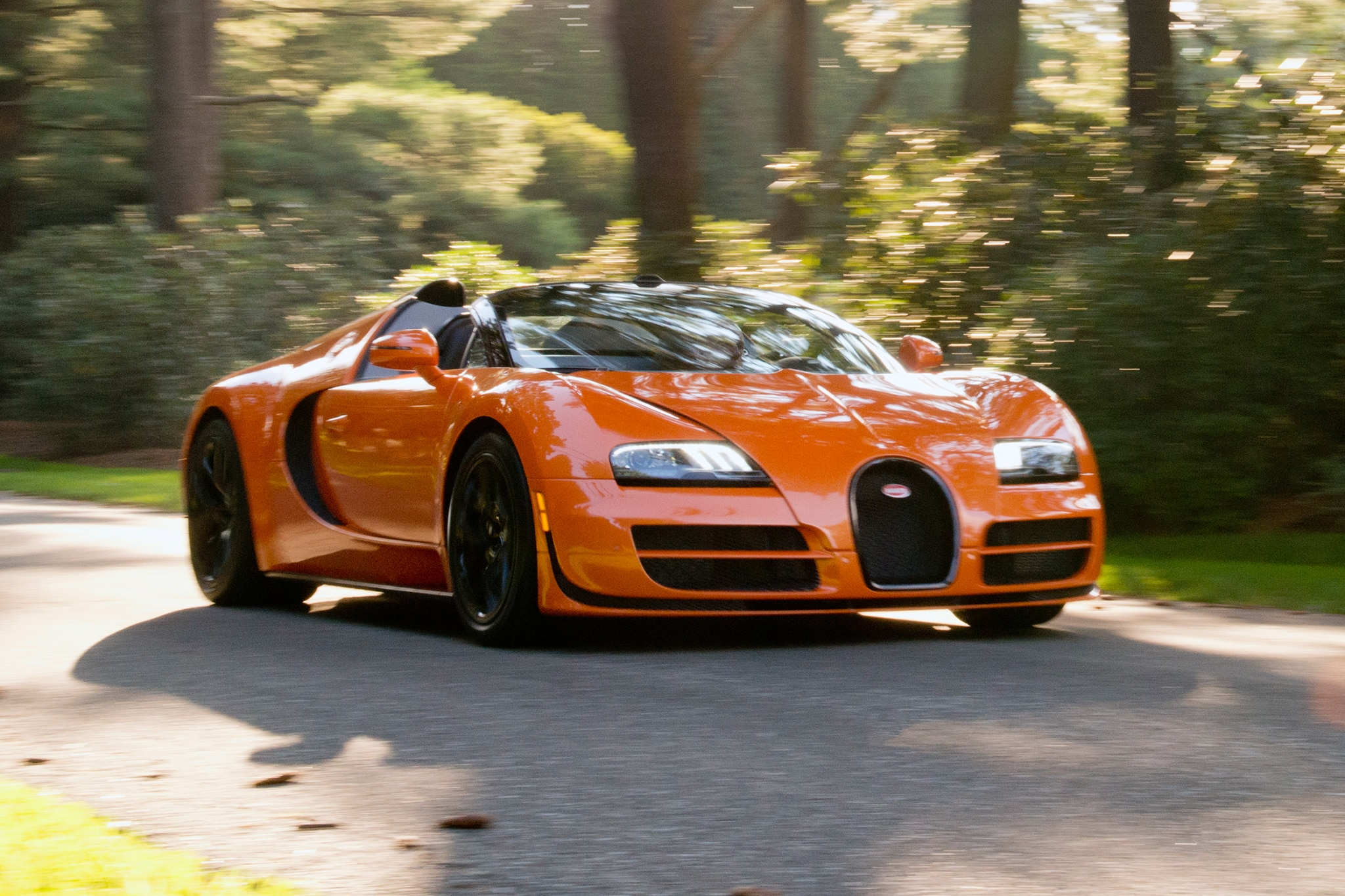 2013 Bugatti Veyron Grand Sport Vitesse Three Quarters View1