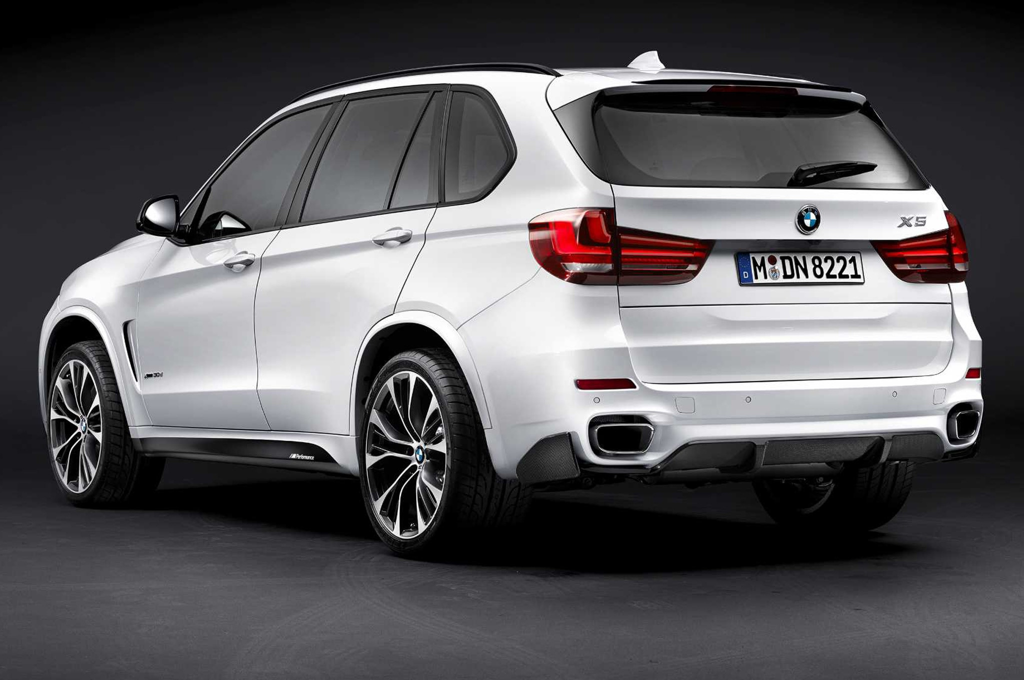 2014 BMW X5 With Performance Parts Rear View2
