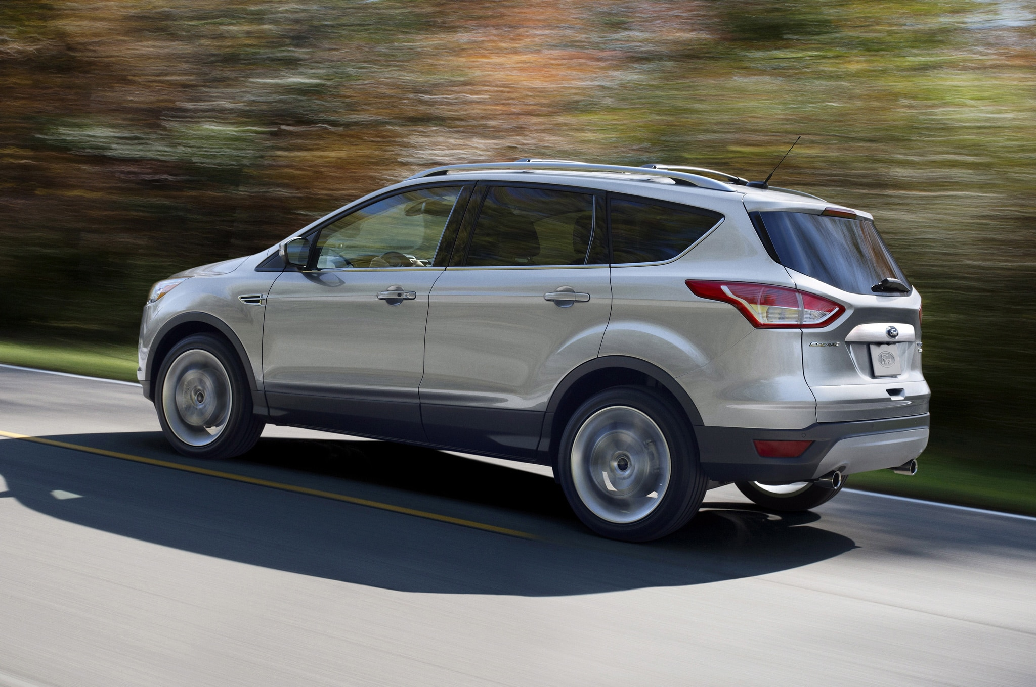 2014 Ford Escape Left Side