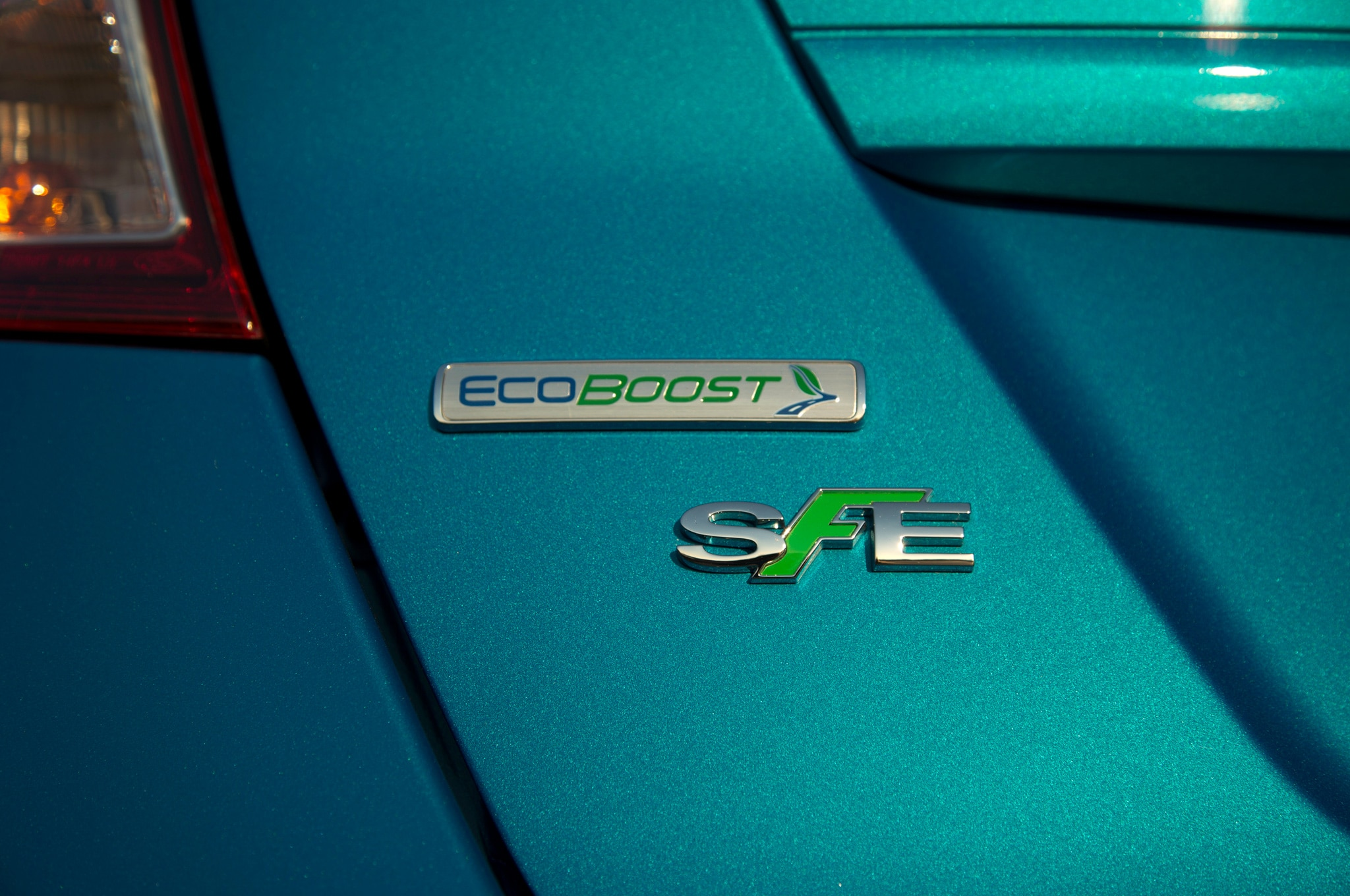 2014 Ford Fiesta SFE EcoBoost EB Badge