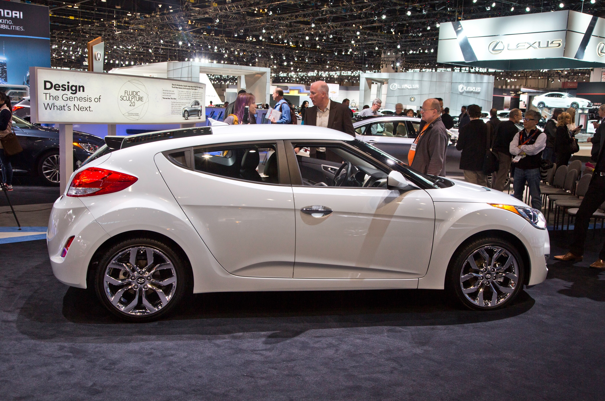 2014 Hyundai Veloster Re Flex Debuts At 2014 Chicago Auto