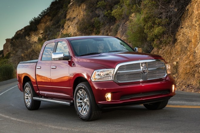 2014 Ram 1500 Limited EcoDiesel Front3 660x438