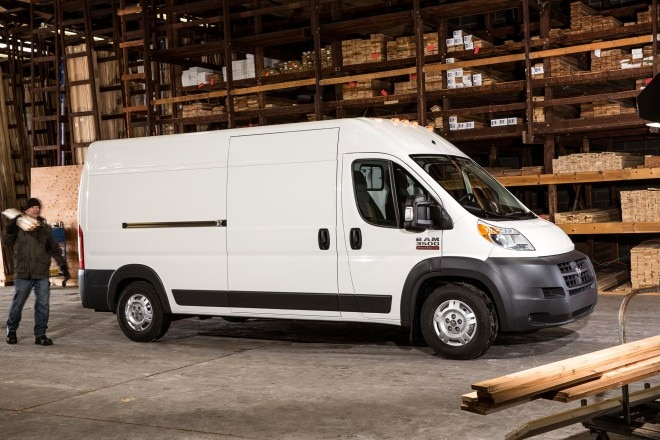 2014 Ram ProMaster Passengers Side View1 660x440