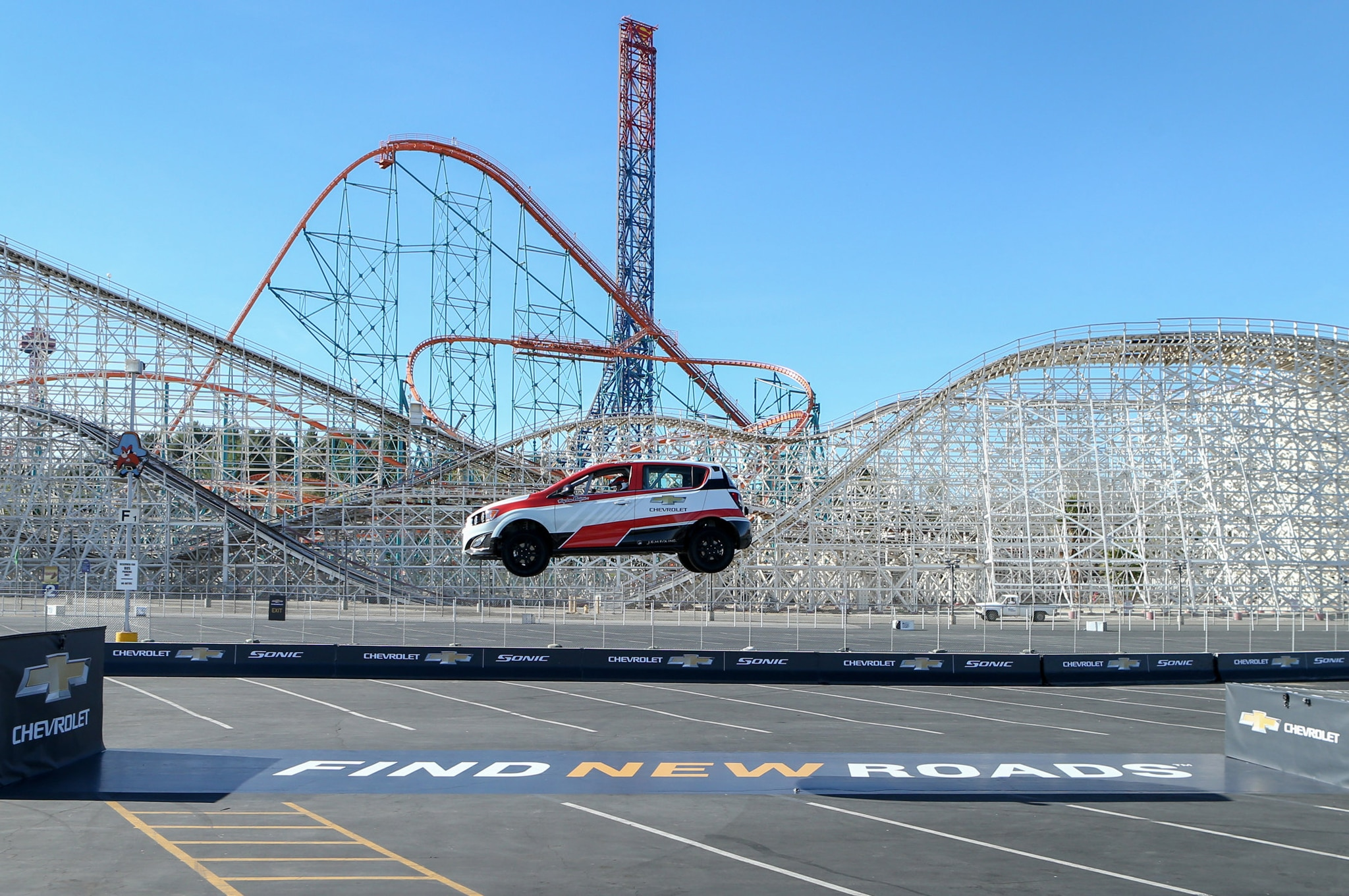 2014 Chevrolet Sonic Rs Ramp Stunt
